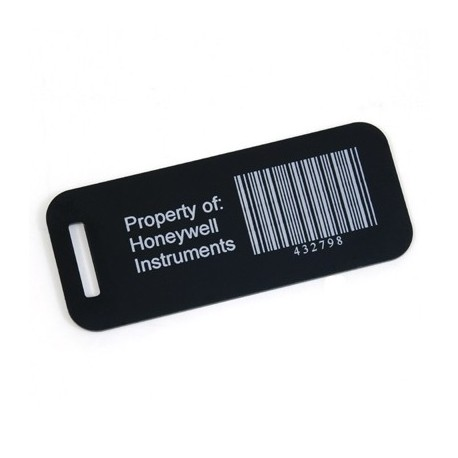 Anodized Aluminum Luggage Tag